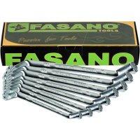 Набор накидных коленчатых ключей Fasano FG 615/SC