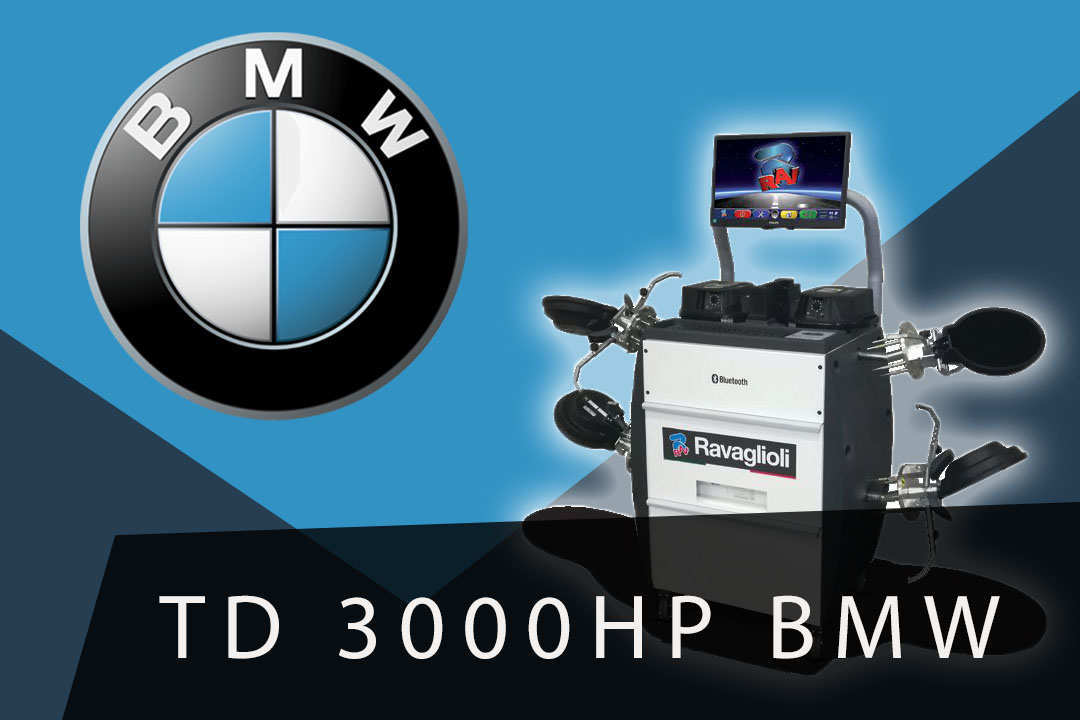 3D Стенд развал схождения RAV TD3000HP BMW