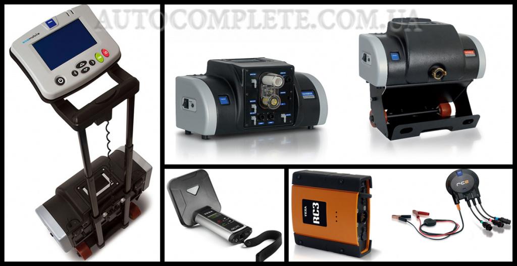 Приборы TEXA для диагностики двигателя автомобиля